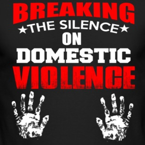 DOMESTIC VIOLENGE - Men's Long Sleeve T-Shirt by Next Level