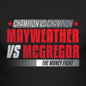 Mayweather VS McGregor - Men's Long Sleeve T-Shirt by Next Level