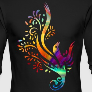 Colorful bird - Men's Long Sleeve T-Shirt by Next Level