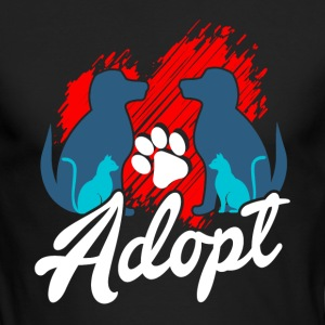 Pet Adoption Shirt - Men's Long Sleeve T-Shirt by Next Level
