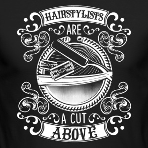 Hair Stylist Shirt - Men's Long Sleeve T-Shirt by Next Level