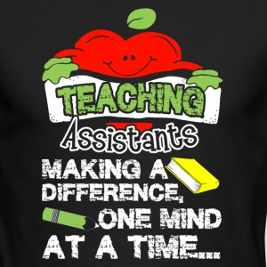 TEACHING ASSISTANT SHIRT - Men's Long Sleeve T-Shirt by Next Level