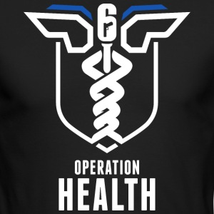 operation health - Men's Long Sleeve T-Shirt by Next Level