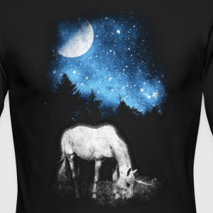 Unicorn Goat Galaxy Gift Shirt High Quality - Men's Long Sleeve T-Shirt by Next Level