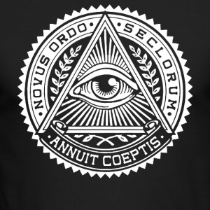 Illuminati - Men's Long Sleeve T-Shirt by Next Level