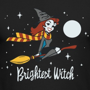 Brightest Witch - Men's Long Sleeve T-Shirt by Next Level
