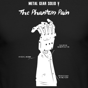 GEAR SOLID V RISING - Men's Long Sleeve T-Shirt by Next Level