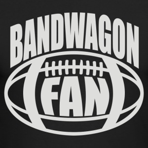 Bandwagon Fan Football - Men's Long Sleeve T-Shirt by Next Level