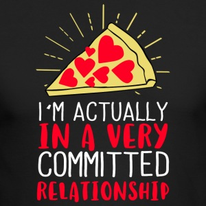 I´m actually in a very committed relationship - Men's Long Sleeve T-Shirt by Next Level