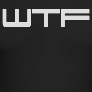 WTF - Men's Long Sleeve T-Shirt by Next Level