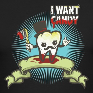 i want candy - Men's Long Sleeve T-Shirt by Next Level