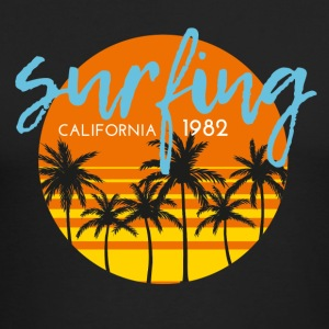CALIFORNIA SURFING 1982 - Men's Long Sleeve T-Shirt by Next Level