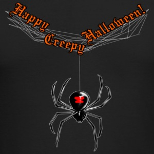 Halloween Widow - Men's Long Sleeve T-Shirt by Next Level