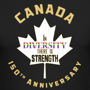Canada 150 Diversity - Men's Long Sleeve T-Shirt by Next Level