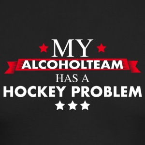 Alcohol team hockey - Men's Long Sleeve T-Shirt by Next Level