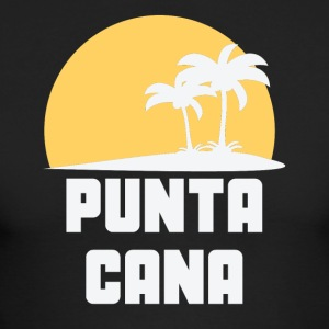 Punta Cana Dominican Republic Sunset Palm Trees - Men's Long Sleeve T-Shirt by Next Level
