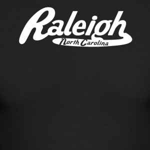 Raleigh North Carolina Vintage Logo - Men's Long Sleeve T-Shirt by Next Level