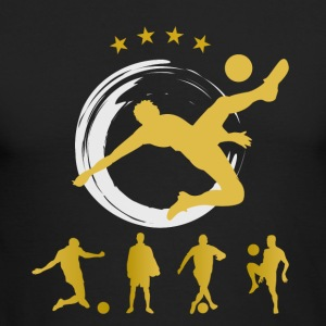 Soccer goal ball champion gold best Soccer Team sp - Men's Long Sleeve T-Shirt by Next Level
