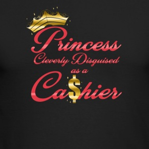 Princess Cleverly Disguised as a Cashier Retail - Men's Long Sleeve T-Shirt by Next Level