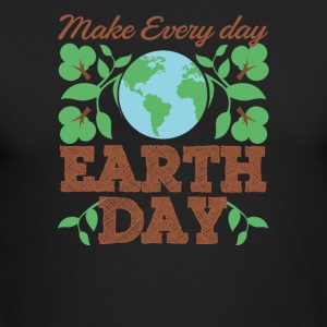 Make Every Day Earth Day Recycle Conservation - Men's Long Sleeve T-Shirt by Next Level