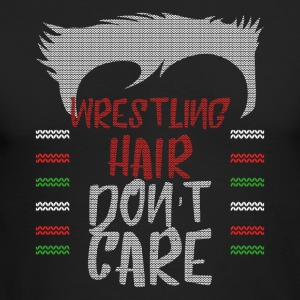 Ugly sweater christmas gift for wrestling - Men's Long Sleeve T-Shirt by Next Level