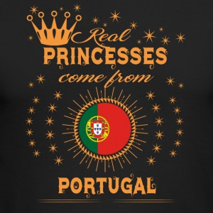 love princesses come from PORTUGAL PORTUGESE - Men's Long Sleeve T-Shirt by Next Level