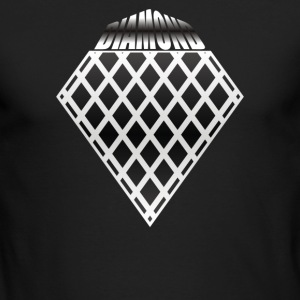 THE DIAMOND - Men's Long Sleeve T-Shirt by Next Level