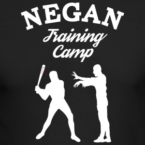 Negan Training Camp T Shirt - Men's Long Sleeve T-Shirt by Next Level