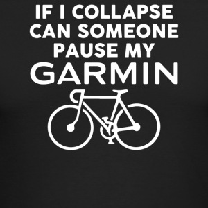 Pause My Garmin - Men's Long Sleeve T-Shirt by Next Level