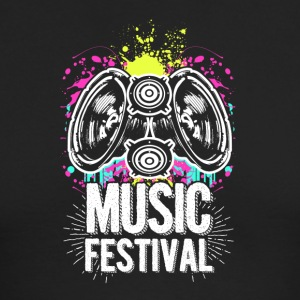 Music Festival Funky - Men's Long Sleeve T-Shirt by Next Level