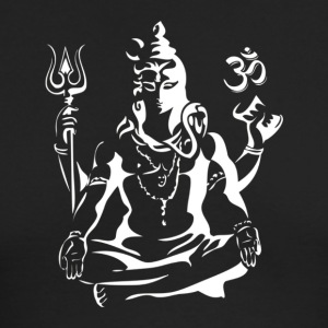 Adiyogi In Deep Meditative State Lord Shiva T shi - Men's Long Sleeve T-Shirt by Next Level
