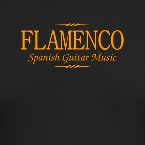 Flamenco Spanish Guitar Music - Men's Long Sleeve T-Shirt by Next Level
