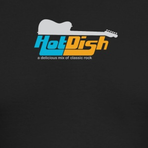Hot Dish Band Logo - Men's Long Sleeve T-Shirt by Next Level