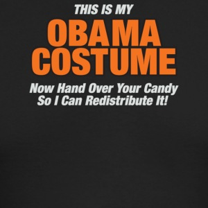 This Is My Obama Costume Anti Obama Halloween - Men's Long Sleeve T-Shirt by Next Level