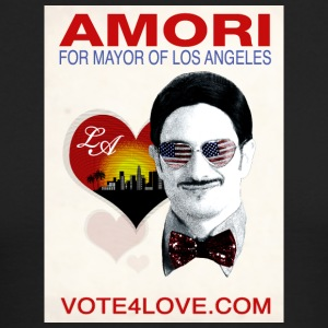 Amori for Mayor of Los Angeles eco friendly shirt - Men's Long Sleeve T-Shirt by Next Level