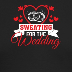 Sweating For The Wedding Funny Wedding - Men's Long Sleeve T-Shirt by Next Level