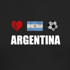 Argentina Football. Argentine Soccer T-shirt - Men's Long Sleeve T-Shirt by Next Level