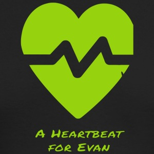 A Heartbeat For Evan T Shirt - Men's Long Sleeve T-Shirt by Next Level