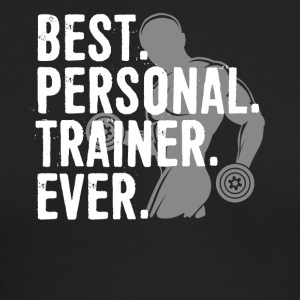 Best Personal Trainer Ever Health Fitness Tshirt - Men's Long Sleeve T-Shirt by Next Level