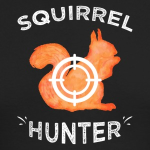 Squirrel hunter - Men's Long Sleeve T-Shirt by Next Level