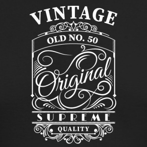 Vintage old no 50 - Men's Long Sleeve T-Shirt by Next Level