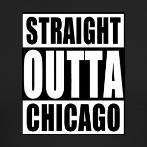 STRAIGHT OUTTA CHICAGO - Men's Long Sleeve T-Shirt by Next Level