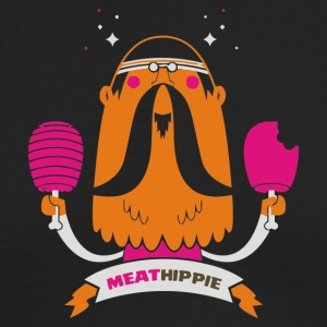 Meat Hippie - Men's Long Sleeve T-Shirt by Next Level