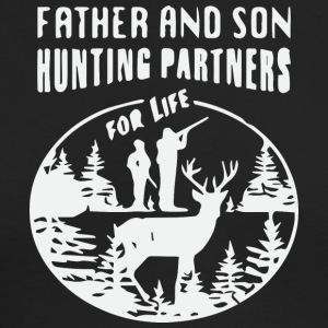 Father and son hunting partner for life - Men's Long Sleeve T-Shirt by Next Level