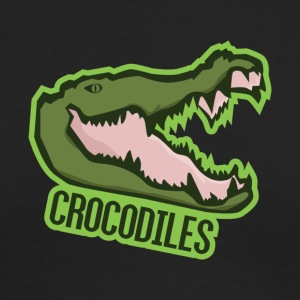 Crocodiles - Men's Long Sleeve T-Shirt by Next Level