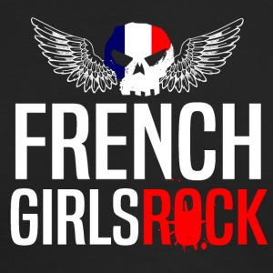 FRENCH GIRLS ROCK - Men's Long Sleeve T-Shirt by Next Level