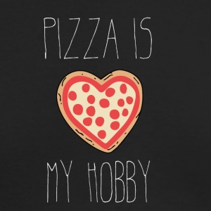 Pizza is my Hobby - Men's Long Sleeve T-Shirt by Next Level