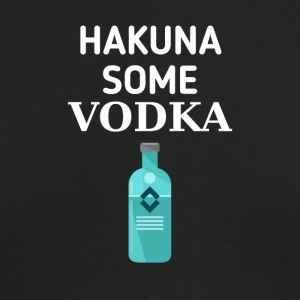 Hakuna some Vodka - Men's Long Sleeve T-Shirt by Next Level