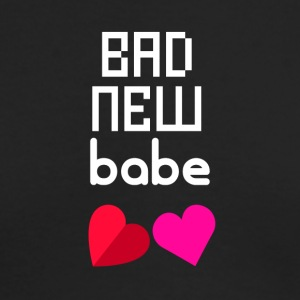 Bad new babe - Men's Long Sleeve T-Shirt by Next Level