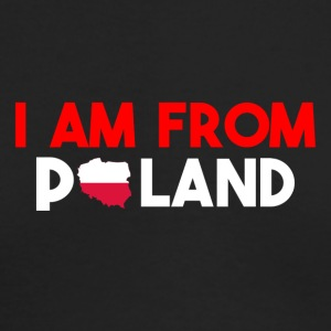I am from POLAND - Men's Long Sleeve T-Shirt by Next Level
